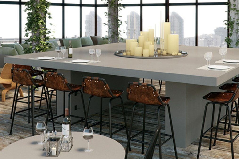 Caesarstone, Canaan Stone Works, the perfect combination of product, fabrication, installation and lasting beauty.