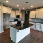 Home build by Reilly Homes, in Leavenworth KS