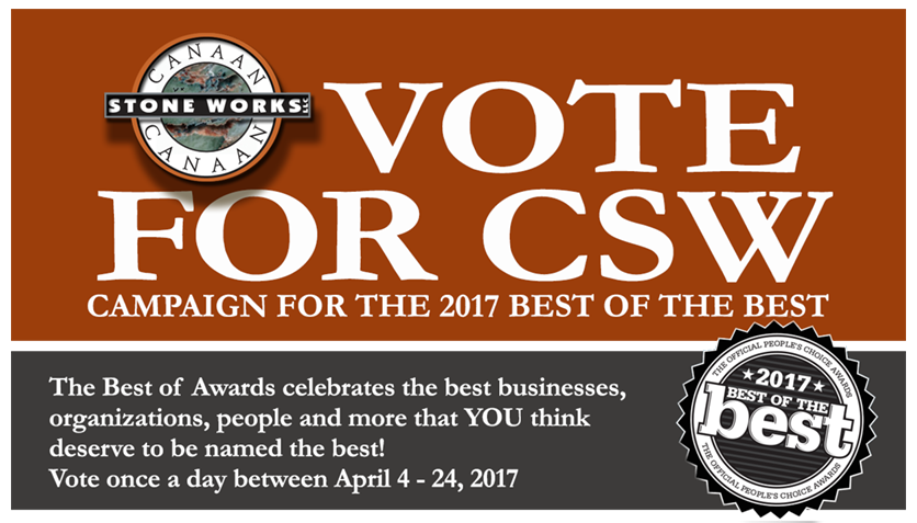 Vote for CSW, Best of the Best Contest sponsored by Leavenworth Times.