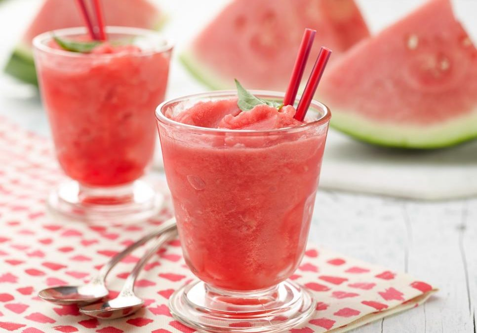 Watermelon Slushie and more. Let's make this.