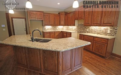 New Home by Bohannon | Granite Countertops by Canaan Stone Works