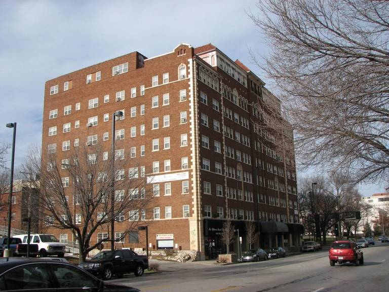 Monarch is located in The Ambassador, at Broadway and Knickerbocker Street, was built around 1925 and features 112 apartments.