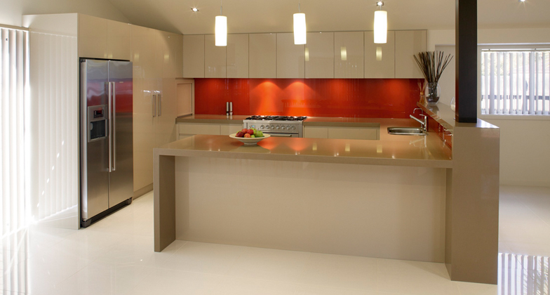 Canaan Stone Works fabricates and installs Caesarstone