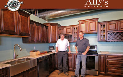 Ally's Galleria & CSW Partner to Offer Custom Made Countertops in the St. Joseph's Area.