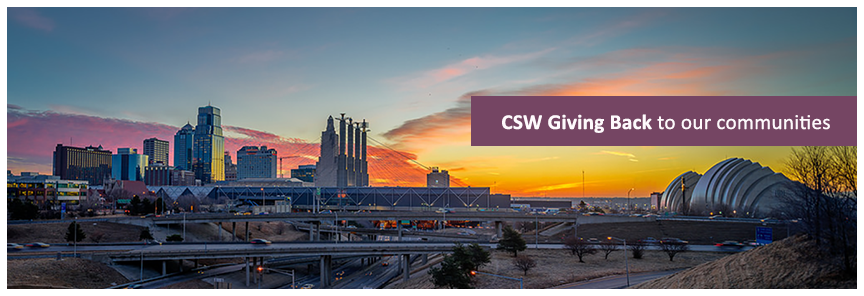 CSW giving back