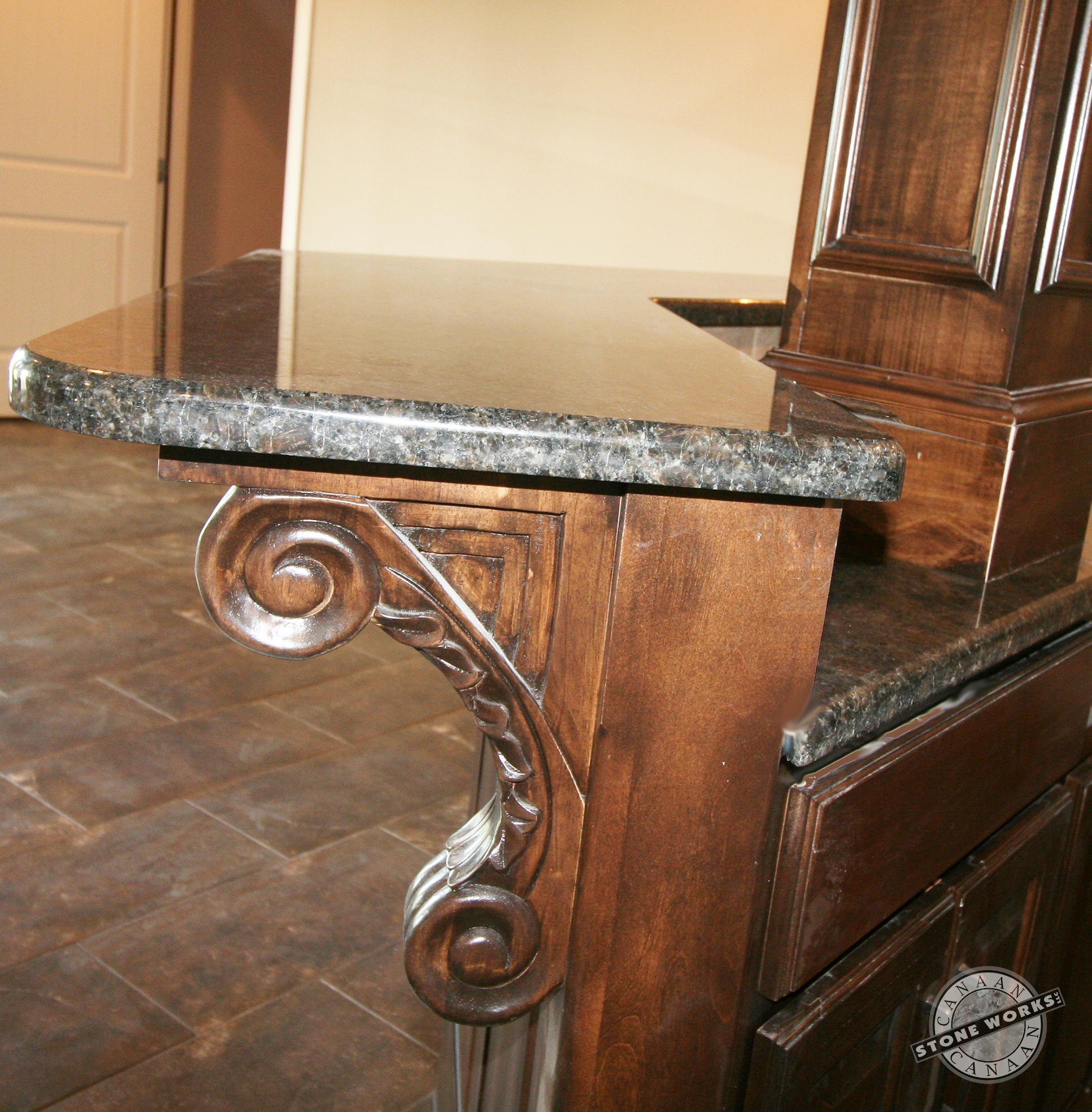Home Bar. Olympus Custom Homes, Canaan Stone Works, new home, Pine Grove Limited,