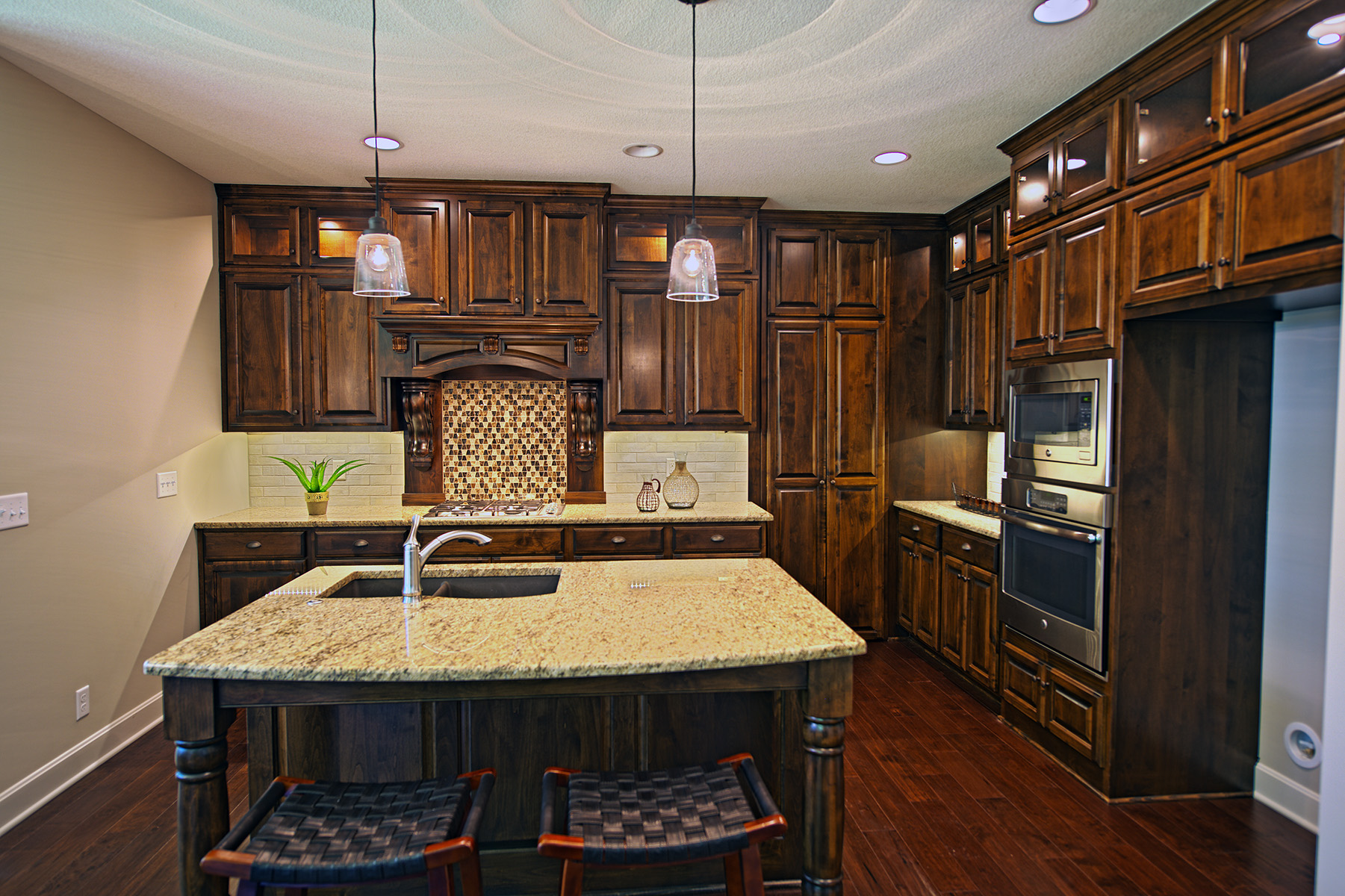 Reilly Home Builders, Canaan Stone Works, granite countertops, stainless steel appliances, new home, custom countertops