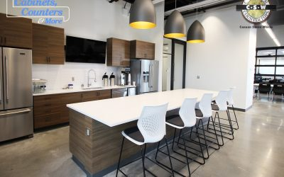 CSW selected as countertop fabricator for 80,000 square foot commercial building project