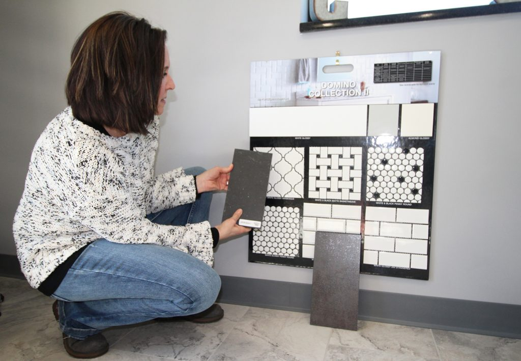 Choosing tile to compliment your custom fabricated countertops