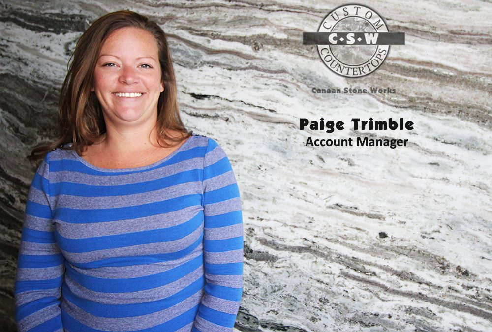 Paige Trimble, Account Manager CSW
