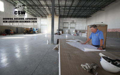 CSW is Building, Expanding, and Moving to New Facility in Shawnee, KS.