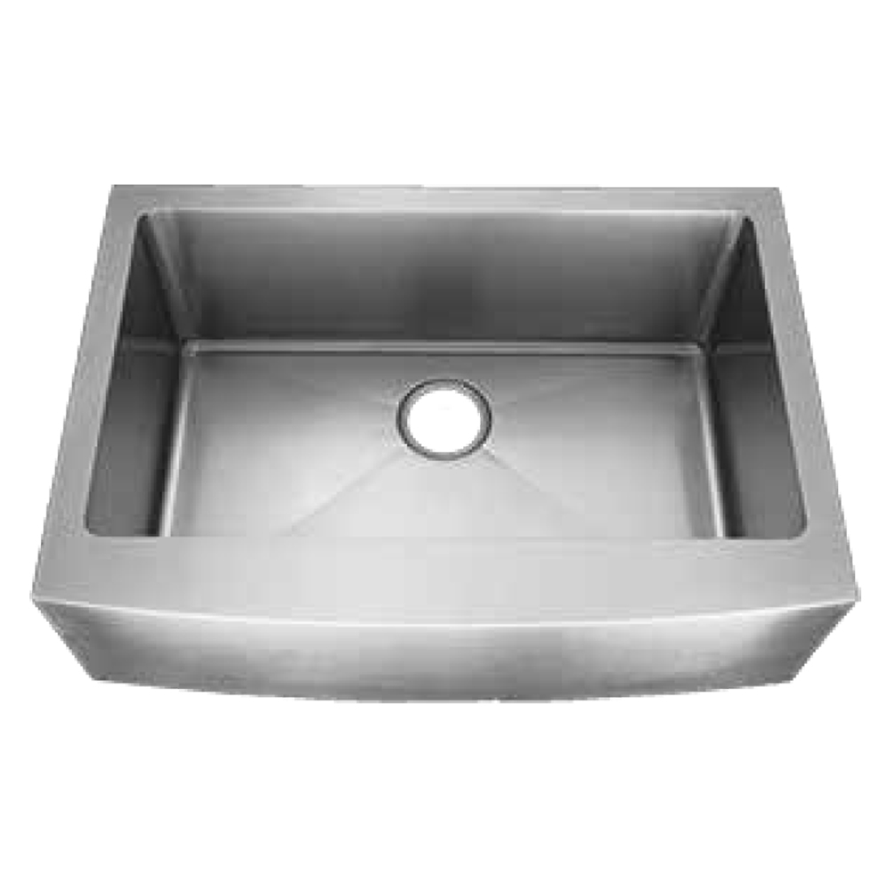 """Front Apron Stainless Steel Kitchen Sink - 35"""""""